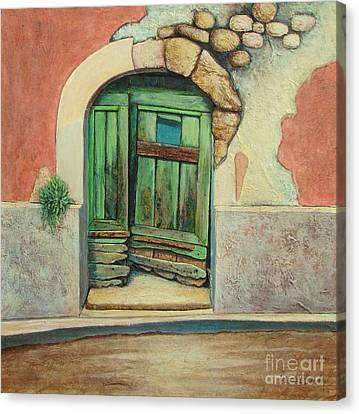 Door II Canvas Print by Pamela Iris Harden