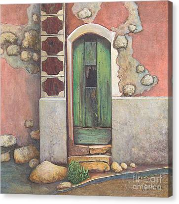 Door IIi Canvas Print by Pamela Iris Harden