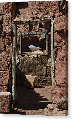Cliff Lee Canvas Print - Door To The Window Of My Soul by Dave Dilli