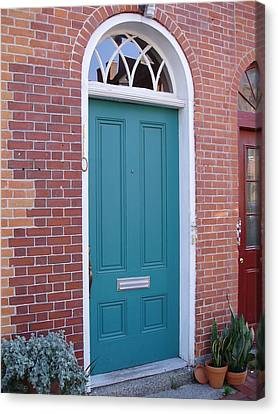 Doors 23 Canvas Print by Emerald GreenForest