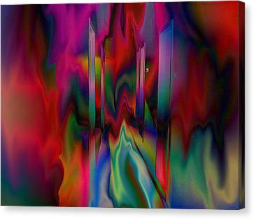 Canvas Print featuring the photograph Doors In My Dream by David Pantuso