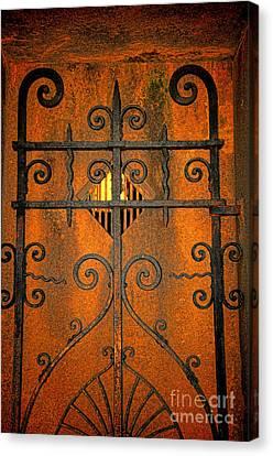 Doorway To Death Canvas Print