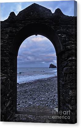 Doorway To The Sea II Canvas Print by Nabucodonosor Perez