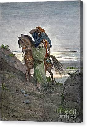Dor�: Good Samaritan Canvas Print by Granger