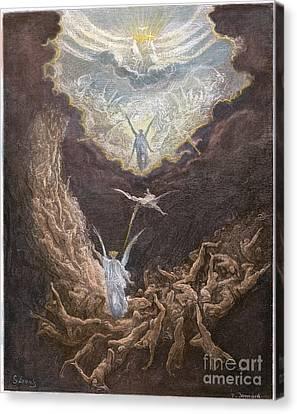 DorÉ: Last Judgment Canvas Print by Granger