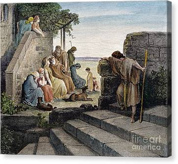 Dor�: Prodigal Son Canvas Print by Granger