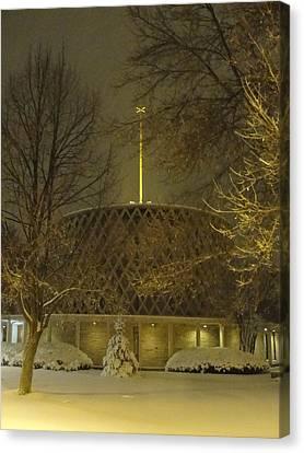 Canvas Print featuring the photograph Dorcas Chapel by Tiffany Erdman