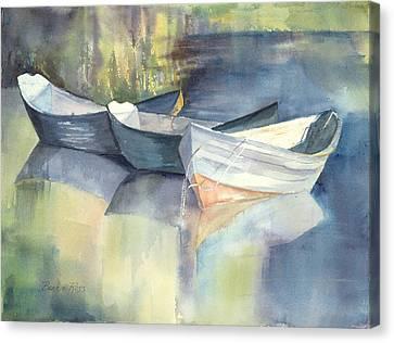Dories I Canvas Print