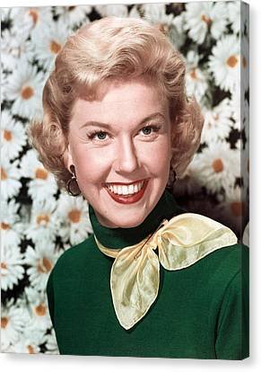 Doris Day, Circa 1950s Canvas Print
