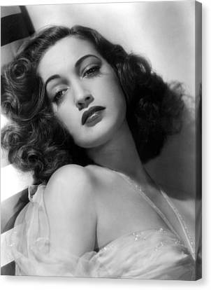 Bare Shoulder Canvas Print - Dorothy Lamour, Paramount Pictures, 1943 by Everett