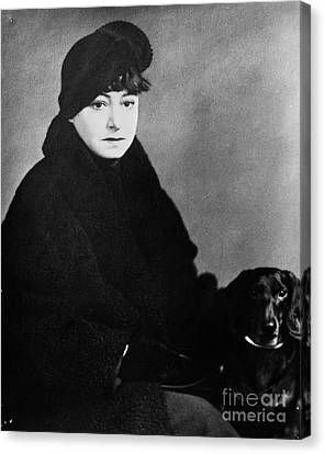Dorothy Parker (1893-1967) Canvas Print by Granger