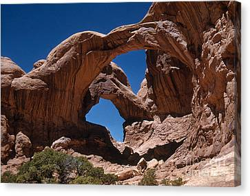 Double Arch Canvas Print by Photo Researchers