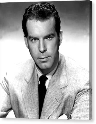 Double Indemnity, Fred Macmurray, 1944 Canvas Print