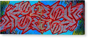 Double Trouble Canvas Print by Randall Weidner