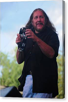 Canvas Print featuring the photograph Doug Gray by Mike Martin