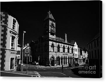 Down Arts Centre Center Old Town Hall Downpatrick County Down Ireland Canvas Print by Joe Fox