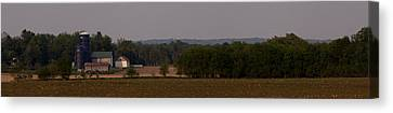 Canvas Print featuring the photograph Down On The Farm by John Crothers