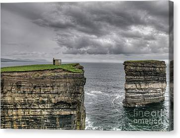 Downpatrick Head Lookout Tower Canvas Print