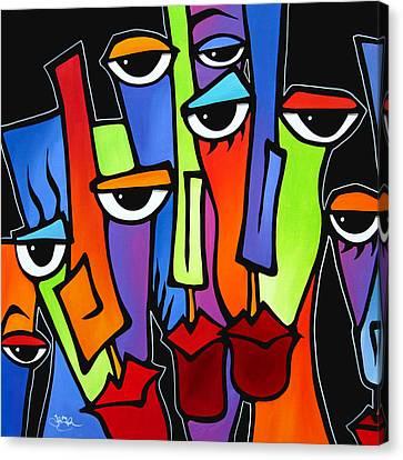 Downplayed Canvas Print by Tom Fedro - Fidostudio