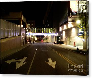 Downtown Louisville Street Canvas Print by Utopia Concepts