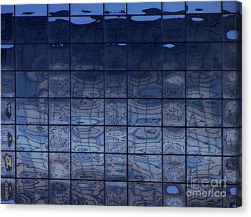 Downtown Canvas Print by Mark Holbrook