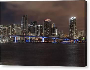 Downtown Miami 2012 Canvas Print by Dan Vidal