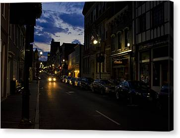 Downtown Staunton Virginia Zynodoa  Canvas Print