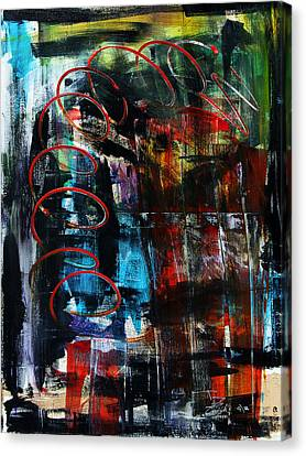Downwards Canvas Print by Terrance Prysiazniuk