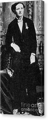Abolitionist Canvas Print - Dr. Mary Edwards Walker by Photo Researchers