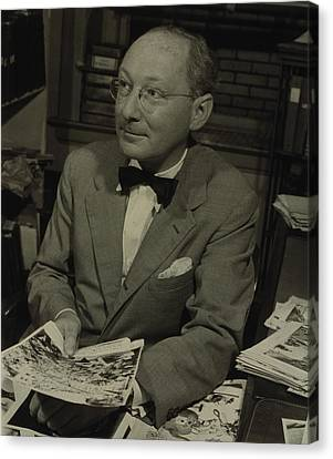Dr. Otto Bettmann, A German Jewish Canvas Print by Everett
