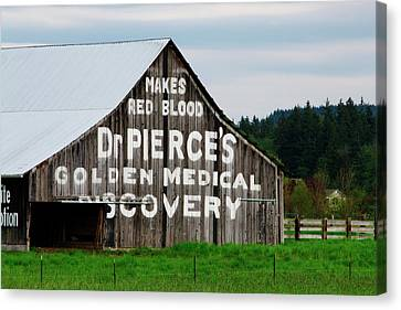 Dr. Pierce Barn 110514.98.1 Canvas Print