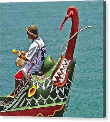 Dragon Boat Canvas Print