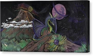Dragon Dreamz Canvas Print by Robin Hewitt