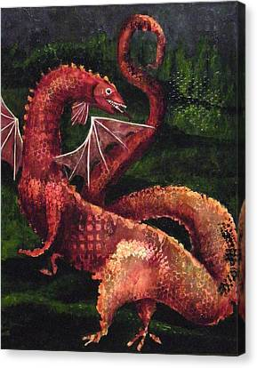 Dragon Time Canvas Print