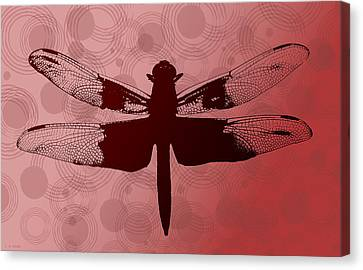 Dragonfly Canvas Print by Lauren Radke
