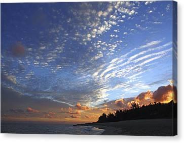Dramatic Hawaiian Sky Canvas Print by Vince Cavataio