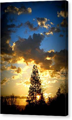 Dramatic Sunrise II Canvas Print