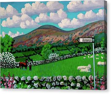 Dranagh Lane Canvas Print by Frank Strasser
