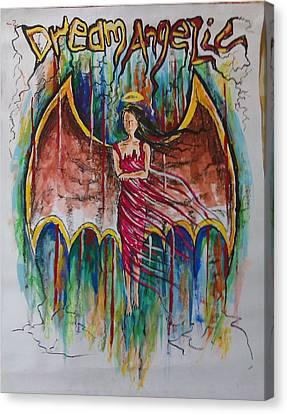 Dream Angelic Canvas Print by Rohit Kumar