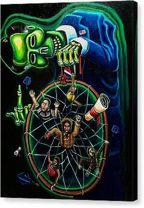 Dream Catcher Canvas Print by Mario Chacon
