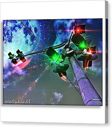 Edit Canvas Print - Dream Crossing by Mari Posa