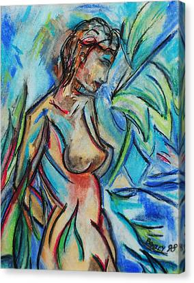 Dream Girl 98 Canvas Print by Bradley Bishko