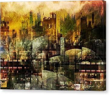 Dream In A Dream II Canvas Print