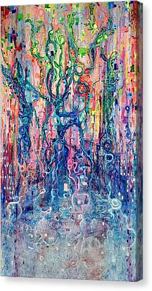Dream Of Our Souls Awake Canvas Print by Regina Valluzzi
