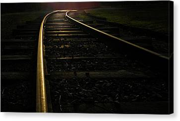 Dream Rails Canvas Print