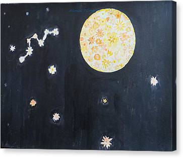 Canvas Print featuring the painting Dream by Sonali Gangane