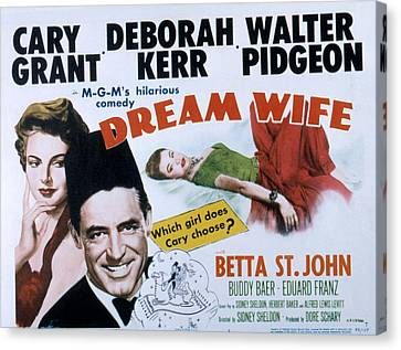 Dream Wife, From Left Deborah Kerr Canvas Print by Everett