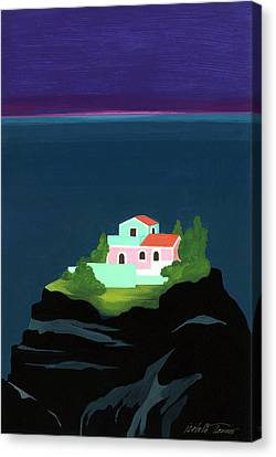 Dreaming Of Sicily Canvas Print by Isabelle Tanner