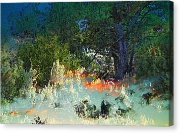 Dreaming Of Wyoming Canvas Print by Lenore Senior and Dawn Senior-Trask