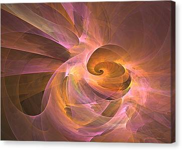 Dreaming Shell Canvas Print by Sipo Liimatainen
